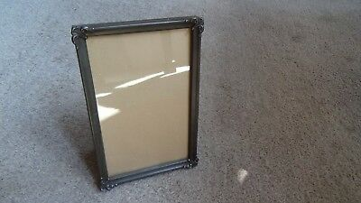 "Vintage 1930's Art Deco Picture Frame By Arco 3 1/2"" X 5 1/2"""