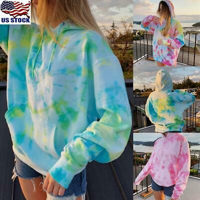 Womens Wrap V Neck Tops Sweater Jumper Ladies Long Sleeve Loose Blouse Shirts US