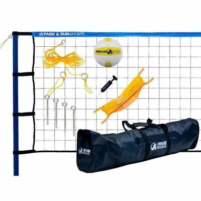 Park & Sun Spiker Sport Steel Volleyball Set (Free Shipping)