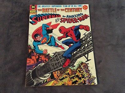 Dc Marvel Comics Presents Superman Vs The Amazing Spider-Man 1976 Large Format