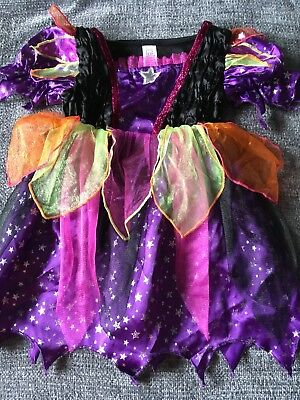 TU 1-2 Years Girls Halloween Witch Fancy Dress Costume - Excellent Condition