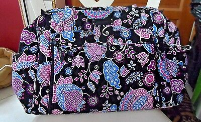Vera Bradley large stroll around baby tote bag in Alpine Floral