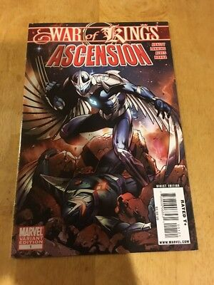 War of Kings: Ascension #1 Variant Cover from Marvel Comics!! NM!