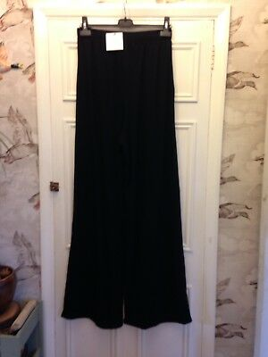 Brand New Asos Tall Maternity Black Trousers Size 12