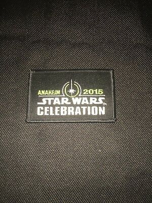 Star Wars Celebration 2015 Officially Licensed Badge Unused Brand New