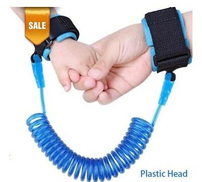 Child Safety Wrist Leash With Expanding Coil By Techmax