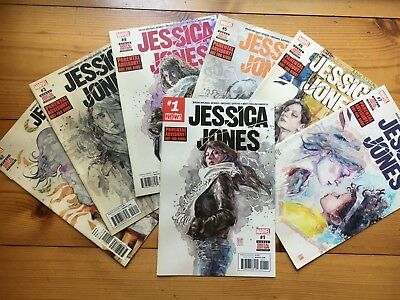 MARVEL: Jessica Jones (2017) #1-7 komplett als SET