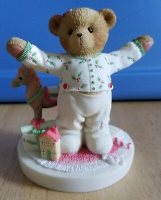 RARE NEW Cherished Teddies - Abbey Press - 4005154 - I Love Christmas This Much