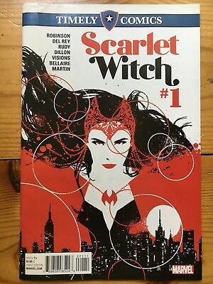 MARVEL Timely Comics: Scarlet Witch #1 (Reprint of #1-3)