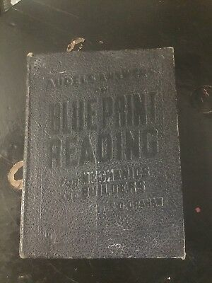 1947 AUDEL'S Answers on Blueprint Reading for Mechanics and Builders softcover