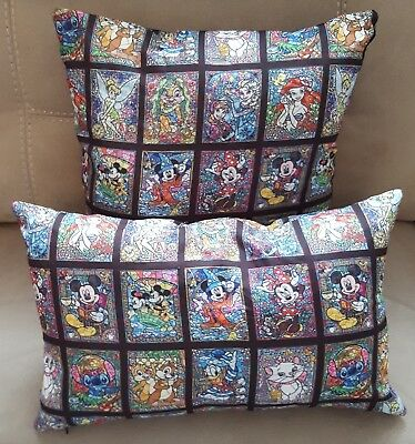 Disney Character Stained Glass Cushion 2 sizes available