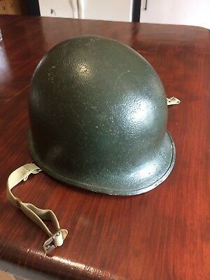 Collectible World War 2 Helmet And Liner Military