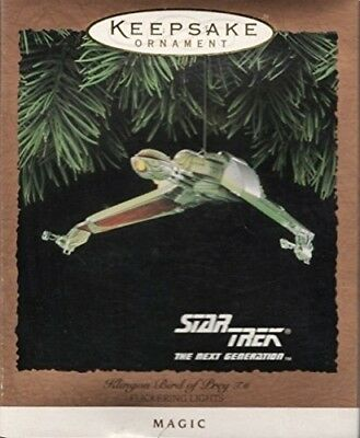 Hallmark Keepsake Ornament QLX738-6: Star Trek: Klingon Bird of Prey