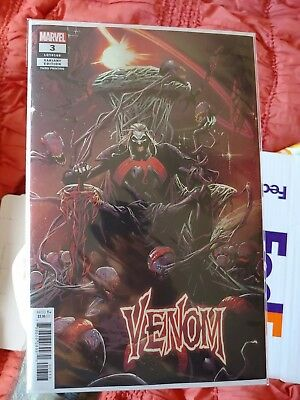 VENOM 3 2018 RYAN STEGMAN 3rd PRINT VARIANT NM 1st APPEARANCE KNULL SOLD OUT