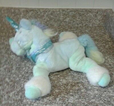 Rare 2000 Toys R Us Animal Alley 18 Blue Butterfly Unicorn Plush