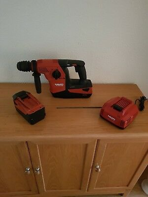 HILTI TE 30-A36 SET.SDS hammer drill ,2 x 36v,6AH batteries and charger.