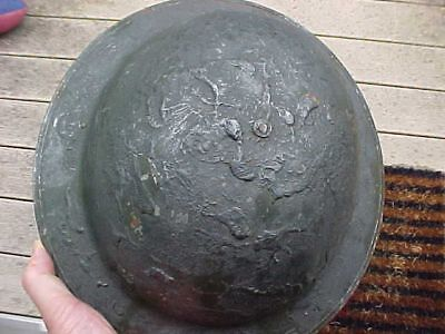Original Early Wwii / Pre War British Camo Helmet
