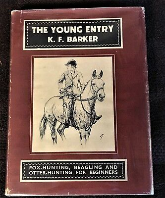 The Young Entry ~ Vintage Fox Hunting, Beagling, Otter Hunting  Dog/horse Book