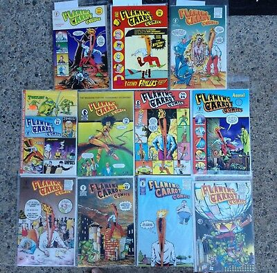 Flaming Carrot Comics Small Collection