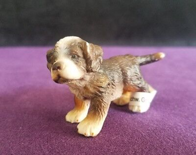2005 Schleich Bernese Mountain Dog Puppy Dog Toy Figure new with tag