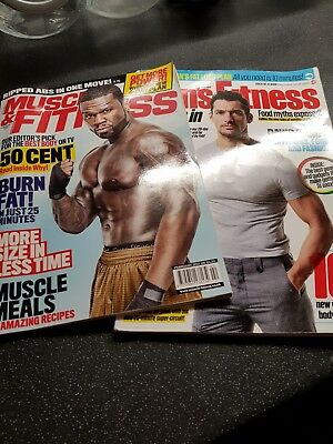 Mens Fitness & Muscle Fitness Magazines 2017