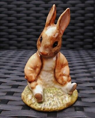 "Beswick England Beatrix Potter ""BENJAMIN BUNNY SAT ON A BANK"" GORGEOUS BP3C"