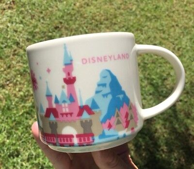 Starbucks Disneyland You Are Here Collection Disney Parks 1st Edition Mug NEW