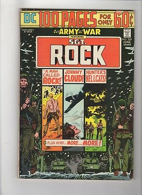 OUR ARMY AT WAR #269  Sgt. Rock, Joe Kubert  100 page giant,  VG