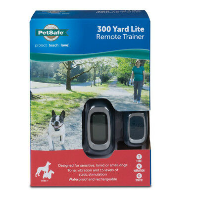 PetSafe Rechargeable Remote Training Collar 300 Yard Range for Dogs 8lbs and Up