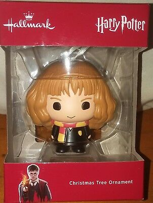 New Hallmark Harry Potter Hermione Granger Christmas Holiday Ornament Movie