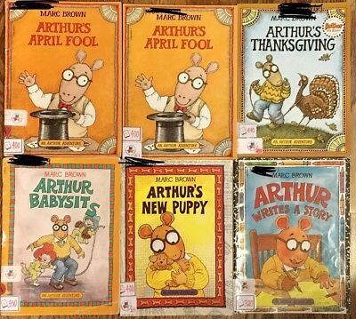 Arthur Books By Marc Brown Lot Of 14
