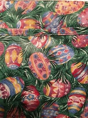 Longaberger Set Of 2 Fabric Placemats - Easter Egg