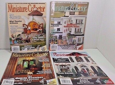Miniature Collector Dollhouse Magazines Roomboxes Goliath Miniatures 2012