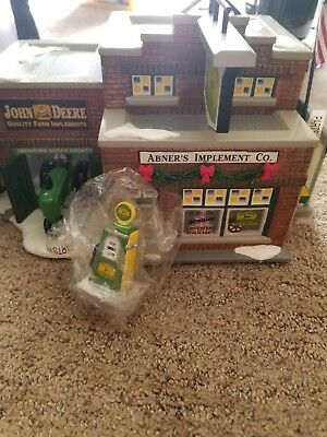 Dept 56 The Original Snow Village Buck's County Abner's Implement Co. John Deere
