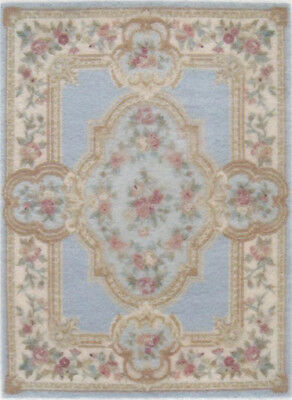 """1:48 Scale Dollhouse Area Rug 0001920 - approximately 2"""" x 2-3/4"""""""