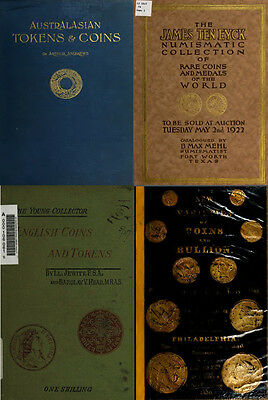 250 Rare Books On Numismatics & Coins, Ancient, Greek, Roman, Islamic On Dvd