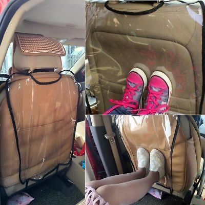 Clear Hot Cover for Children Kick Mat Mud Clean Car Seat Back Protector