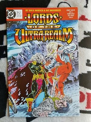 Lords Of The Ultra-Realm Entire Miniseries NM/9.4  #1-6 & Special #1 1986 DC