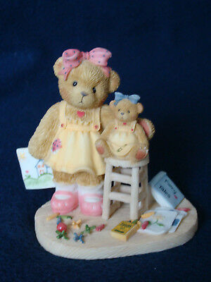 Cherished Teddies (Crayola) - Rosemary - Girl W/Crayola Figurine - 811750 - 2001