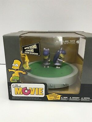 The Simpsons Movie Bar Doodle Double Dare Mcfarlane Toys New