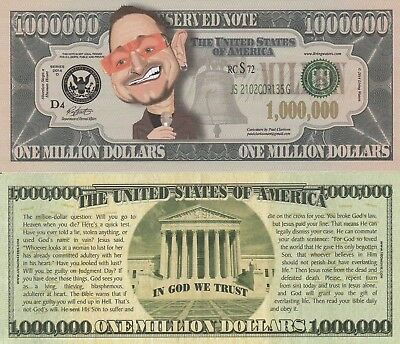 YOU CHOOSE ~ MIX OR MATCH ~ 50 Funny Money Novelty Notes with FREE SLEEVES