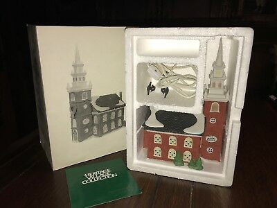 New England Village Series - Department 56 - Old North Church #5932-3 NO Reserve