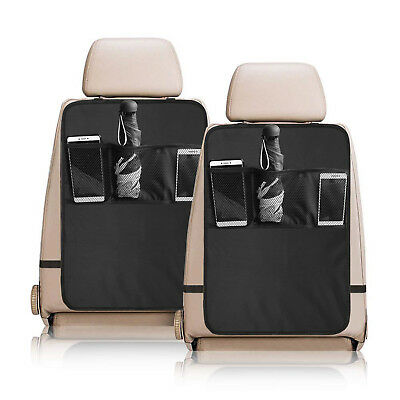 Luxury Kick Mat - for Car Seat Back Protector 3 Pocket Keep Your Seat 100% Clean