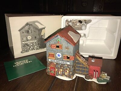 New England Village Series - Department 56 - Blue Star Ice Co. - NO Reserve