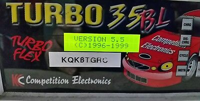 Kc Competition Electronics Turbo 35Bl Charger Vintage