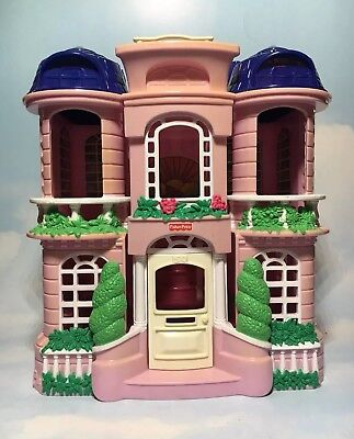 Fisher Price Sweet Street Take Along Dollhouse House For Small Dolls Compact