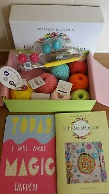 Little Box Of Crochet Amanda Bloom BNIB