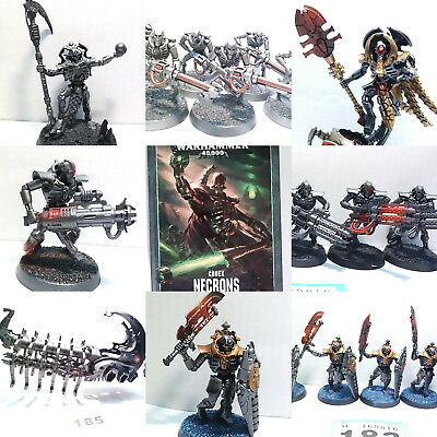 Warhammer 40k 40,000 Necron Army Multi Listing Worldwide Delivery Available