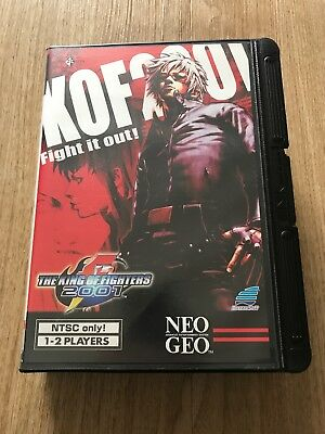 The King Of Fighters 2001 Neo Geo AES US Version - English Language Game Rare