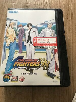 The King Of Fighters 98 Neo Geo AES Game